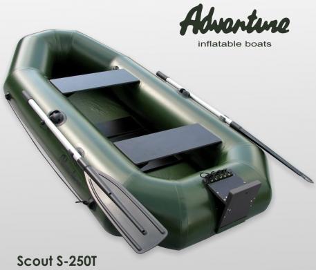 Надувная лодка Adventure Scout S-250T