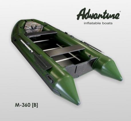 Надувная лодка Adventure Master II M-360B