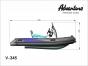 Надувная лодка Adventure Vesta V-345 RIB - фото 4