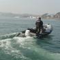 Надувная лодка Adventure Vesta V-450 RIB - фото 8
