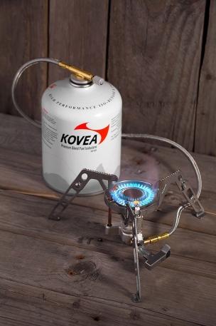Газовая горелка Kovea со шлангом KB-0211G-L Camp-4 Moonwalker