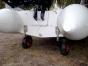 Транцевые колеса для лодки (черные) - фото 3