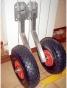 Транцевые колеса для лодки (нерж. сталь) - фото 1
