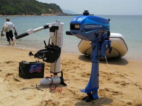 Двухтактный лодочный мотор Haswing HTT 3.5