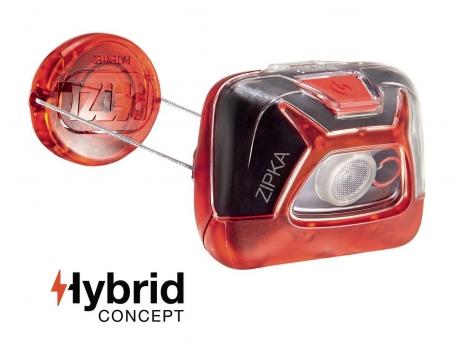 Налобний ліхтар Petzl ZIPKA Hybrid