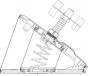 Насос ножной двухкамерный Borika 7,5 литров - фото 3