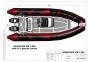 Надувная лодка Adventure Vesta V-550 RIB - фото 16