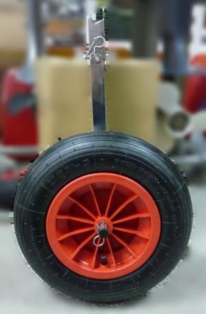 Транцевые колеса для лодки (нерж. сталь)