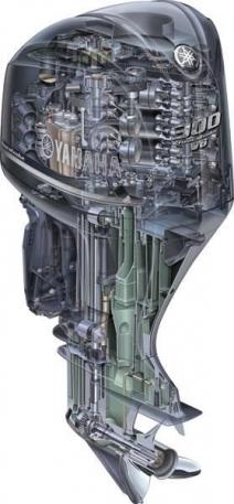 Лодочный подвесной мотор Yamaha F300 BETX