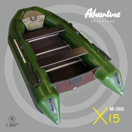 Надувная лодка Adventure Master II M-360BN