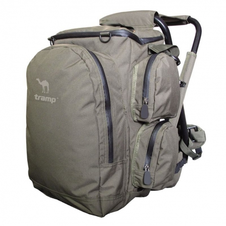 Рюкзак для рыбаков / охотников Tramp Forest 40 со стулом