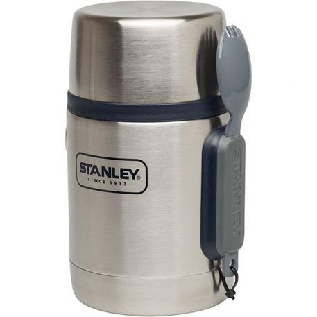 Термос для пищи Stanley Adventure 0.53L с ложкой Стальной