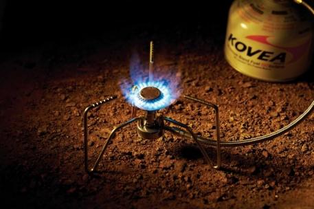 Газовая горелка Kovea KB-1109 Spider Stove со шлангом