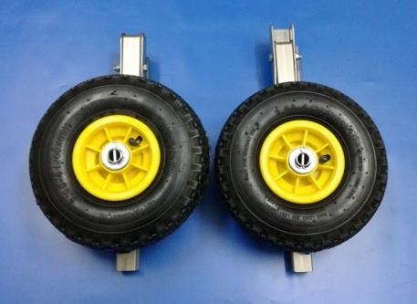 Транцевые колеса для лодки КТ-5н нержавеющая сталь