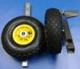 Транцевые колеса для лодки КТ-5н нержавеющая сталь - фото 2