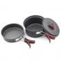 Набор посуды алюминиевый Fire Maple FMC-203 - фото 3