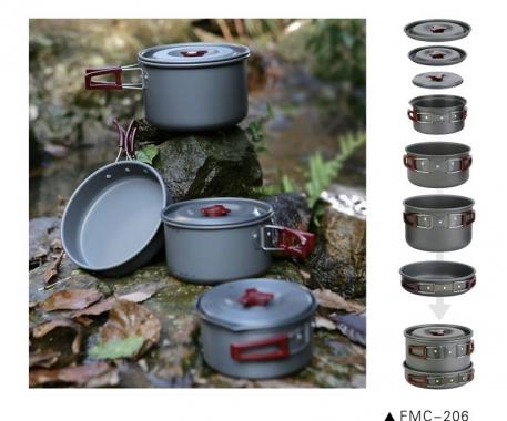Набор посуды алюминиевый Fire Maple FMC-206