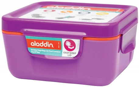 Ланчбокс Aladdin Easy-Keep Lid 0.47L фиолетовый