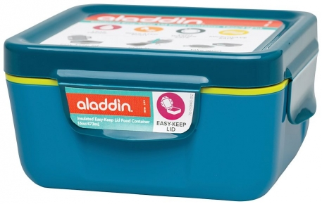 Ланчбокс Aladdin Easy-Keep Lid 0.47L бирюзовый
