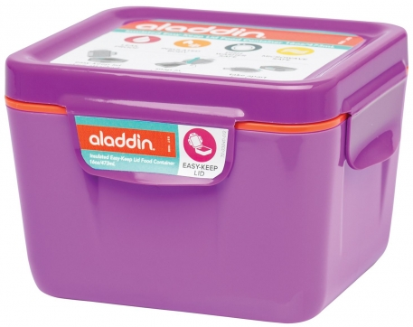 Ланчбокс Aladdin Easy-Keep Lid 0.71L фиолетовый