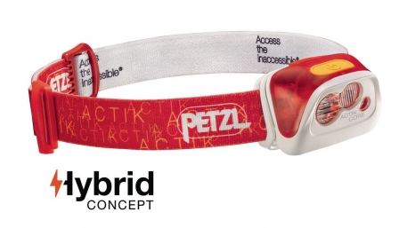 Налобний ліхтар Petzl ACTIK Core Hybrid