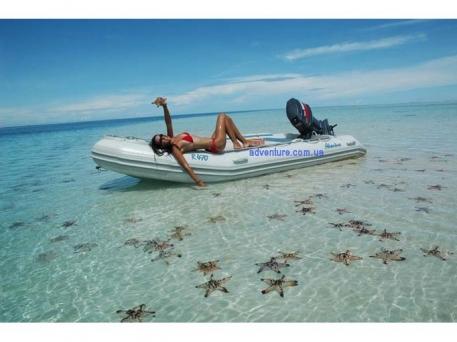 Надувная лодка Adventure Rubicon R-470