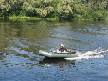 Надувная лодка Adventure T-270