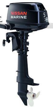 Лодочный подвесной мотор Nissan F 5 BS1