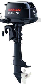 Лодочный подвесной мотор Nissan F 6 BS2