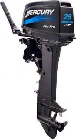 Лодочный мотор Mercury 25ML Sea Pro