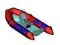 Надувная лодка с пластиковым днищем RIB Adventure Vesta V-345 Sport - фото 1