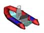 Надувная лодка с пластиковым днищем RIB Adventure Vesta V-380 Mini Lux - фото 1