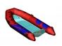 Надувная лодка с пластиковым днищем RIB Adventure Vesta V-450 Base - фото 1