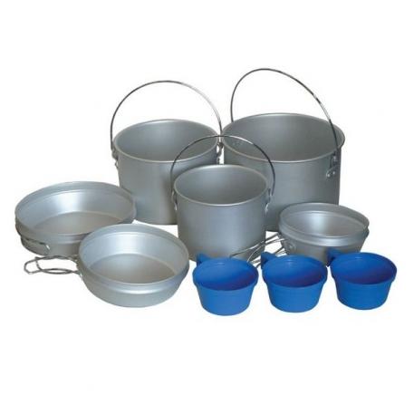 Набор посуды Tramp из алюминия