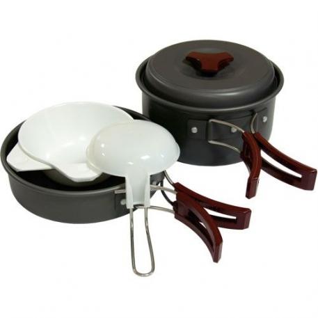 Набор посуды Tramp из анодированого алюминия