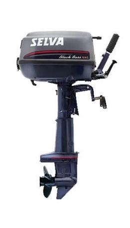 Лодочный мотор Selva 7.5 Black Bass