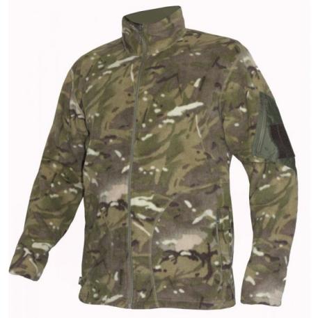 Куртка мужская флисовая Commandor Multicam