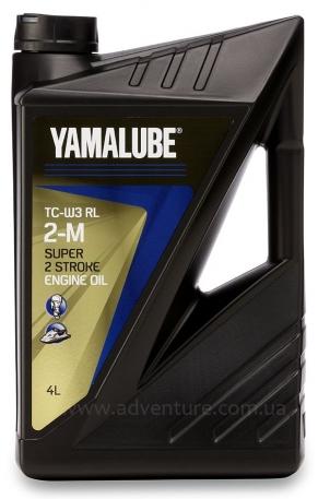 Масло моторное Yamalube 2-M TCW3-RL 4 литра