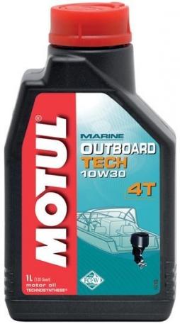 Масло моторное Motul Outboard Tech 4T 10W-30 1 литр
