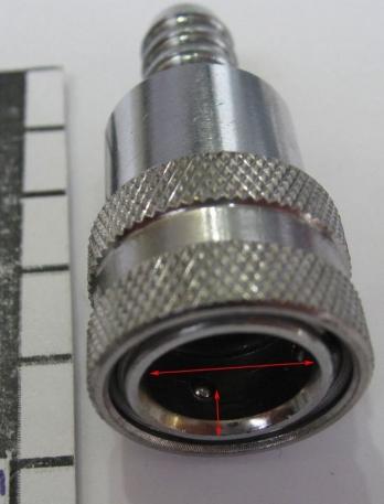 Коннектор топливный Ice для моторов Nissan.