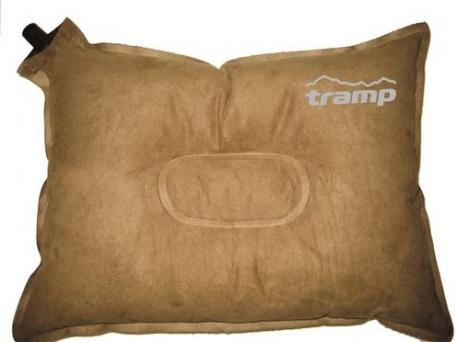 Самонадувающаяся подушка Tramp 43 х 34 х 8,5 см замша