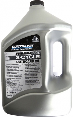 Масло моторное Quicksilver Premium Plus TC-W3 4 литра