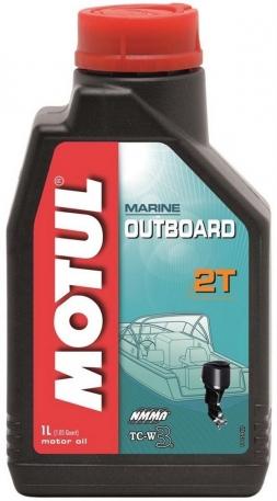 Масло моторное Motul Outboard 2T TC-W3 1 литр