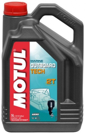 Масло моторное Motul Outboard Tech 2T TC-W3 5 литров