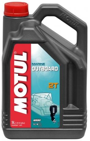 Масло моторное Motul Outboard 2T TC-W3 5 литров