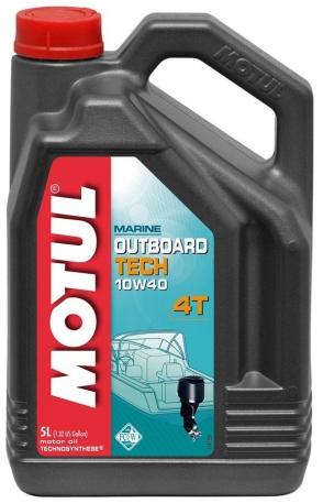 Масло моторное Motul Outboard Tech 4T 10W-40 5 литров