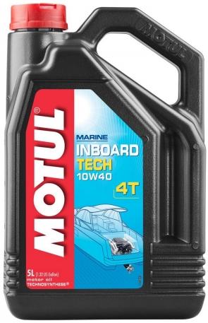 Масло моторное Motul Inboard Tech 4T 10W-40 5 литров