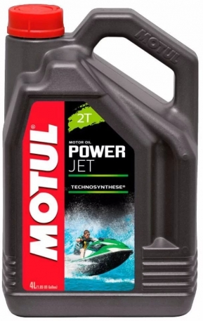 Масло моторное Motul Powerjet 2T TC-W3 4 литра