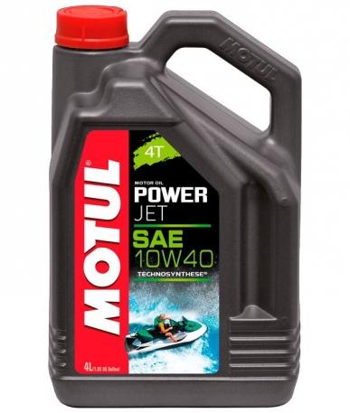 Масло моторное Motul Powerjet 4T 10W-40 4 литра