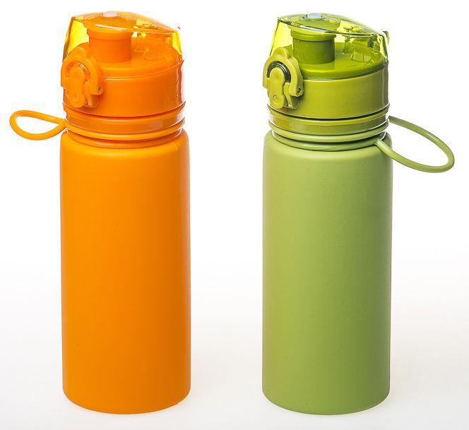 Бутылка силиконовая Tramp 0,5 л